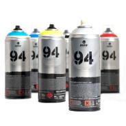 Sprays rellenos de arte